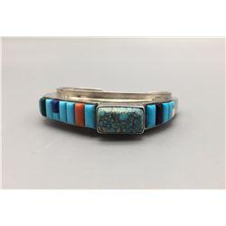 Contemporary Cobblestone Inlay Bracelet