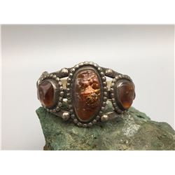 Heavy, Fred Harvey Era Bracelet