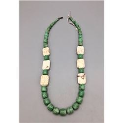 Varisite and Wild Horse Bead Necklace