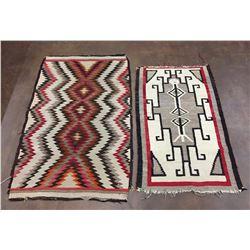 Pair of Mid-Century Navajo Textiles