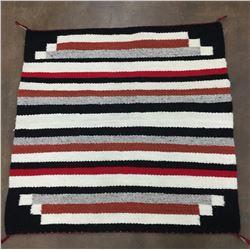 Navajo Textile - Single Saddle Blanket