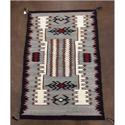 Storm Pattern Navajo Textile