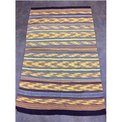 Vintage Hand Spun Navajo Textile