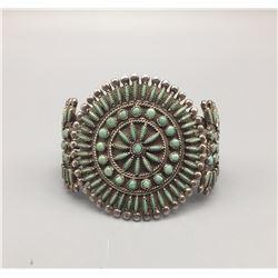Vintage Zuni Needlepoint Bracelet