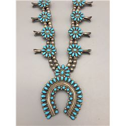 Squash Blossom Style Necklace