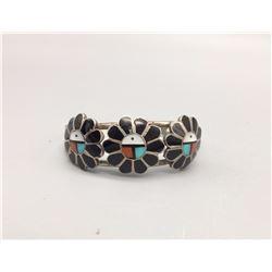 Zuni Inlay Bracelet - A. Gasper