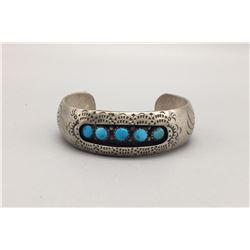 Turquoise Shadowbox Style Bracelet