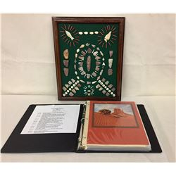 Artifacts Display and Navajo Scrapbook