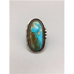 Royston Turquoise, Sterling Silver Ring