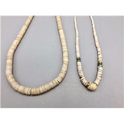 Pair of Pueblo Style Choker Necklases