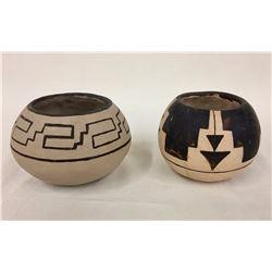 2 Pima Pottery Bowls