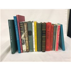 15 Vintage and Antique Hard Cover Books