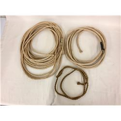 Old Ropes From A 1940s Rodeo Cowboy