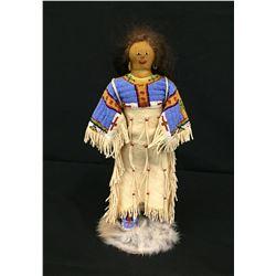 Vintage Arapahoe Beaded Doll