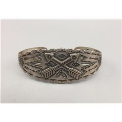 Fred Harvey Style Sterling Bracelet