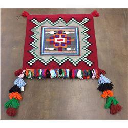 """Vintage Navajo """"Sunday"""" Saddleblanket"""