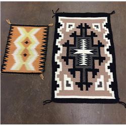 2 Smaller Size Navajo Textiles