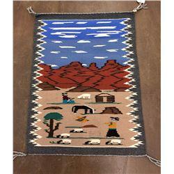 Teec Nos Pos Pictorial Weaving