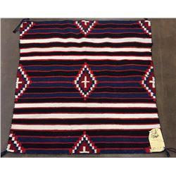 Chief's Pattern Navajo Textile