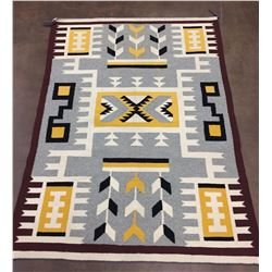 Unique Storm Pattern Navajo Textile