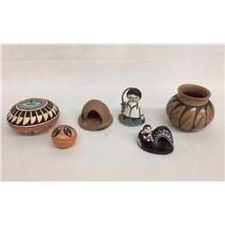 7 Miscellaneous Pots - Various Tribes