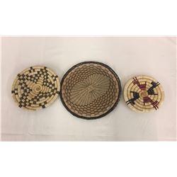 3 Hopi Baskets - Plaques