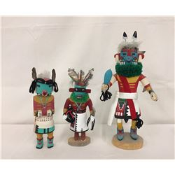 Group of 3 Older Hopi Kachinas