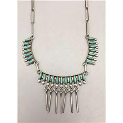 Zuni Needlepoint Necklace