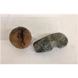 Prehistoric Stone Axe Head