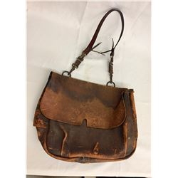 Antique Leather US Mail Pouch