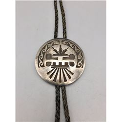 Overlay Sterling Silver Bolo