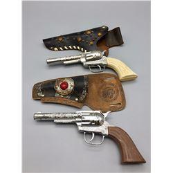 Two Antique Cap Gun Pistols