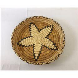 Vintage Tohono O'Odham Design Basket/Tray