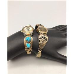 Pair of Vintage Ladies Watch Bracelets