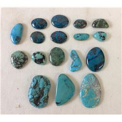 Approximately 500 cts. of Misc. Turquoise