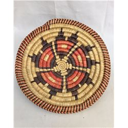 Navajo Basketry Tray by Sally Black