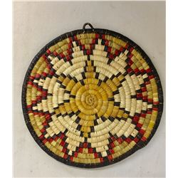 Second Mesa Hopi Coil Basketry Tray