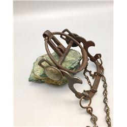 Silver Mounted Antique Ring Bit
