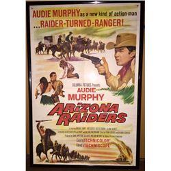 1965 Audie Murphy Western Movie Poster