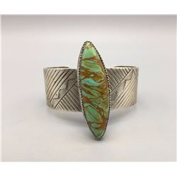 Unique Large Stone Turquoise Bracelet