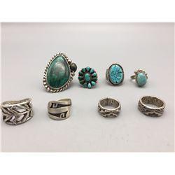 Group of 8 Rings