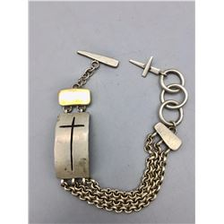 Drew Ruiz - Sterling Silver and Gold Bracelet