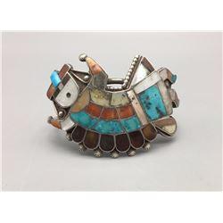 Vintage Zuni Rainbowman Bracelet