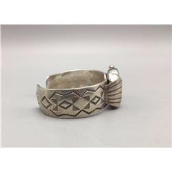 Sterling Silver Watch Cuff Bracelet