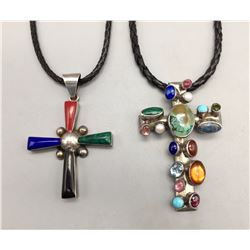 Pair of Cross Necklaces
