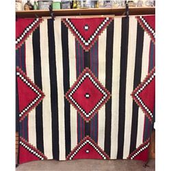 Large Chief Style Blanket/Textile