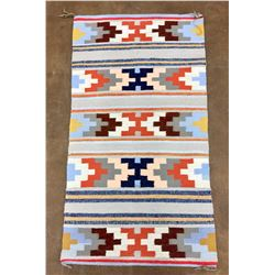 Busy, Colorful Navajo Textile