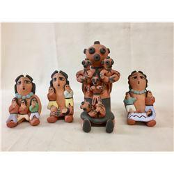4 Pueblo Storytellers