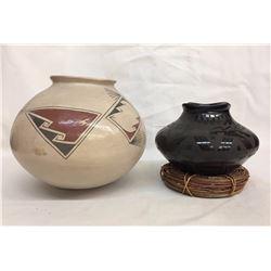Pair of Mata Ortiz Pots