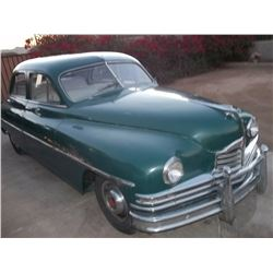 Classic 1950 Packard Automobile